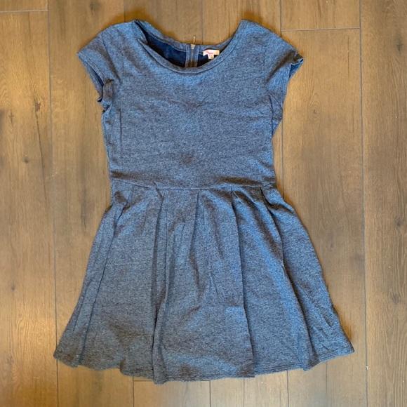 GAP Dresses & Skirts - Gap Blue Zipper Back Fit & Flare Dress